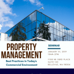 Commercial Property Management Seminar
