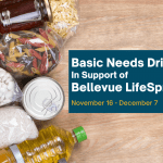 Basic Needs Drive for Bellevue LifeSpring Donations
