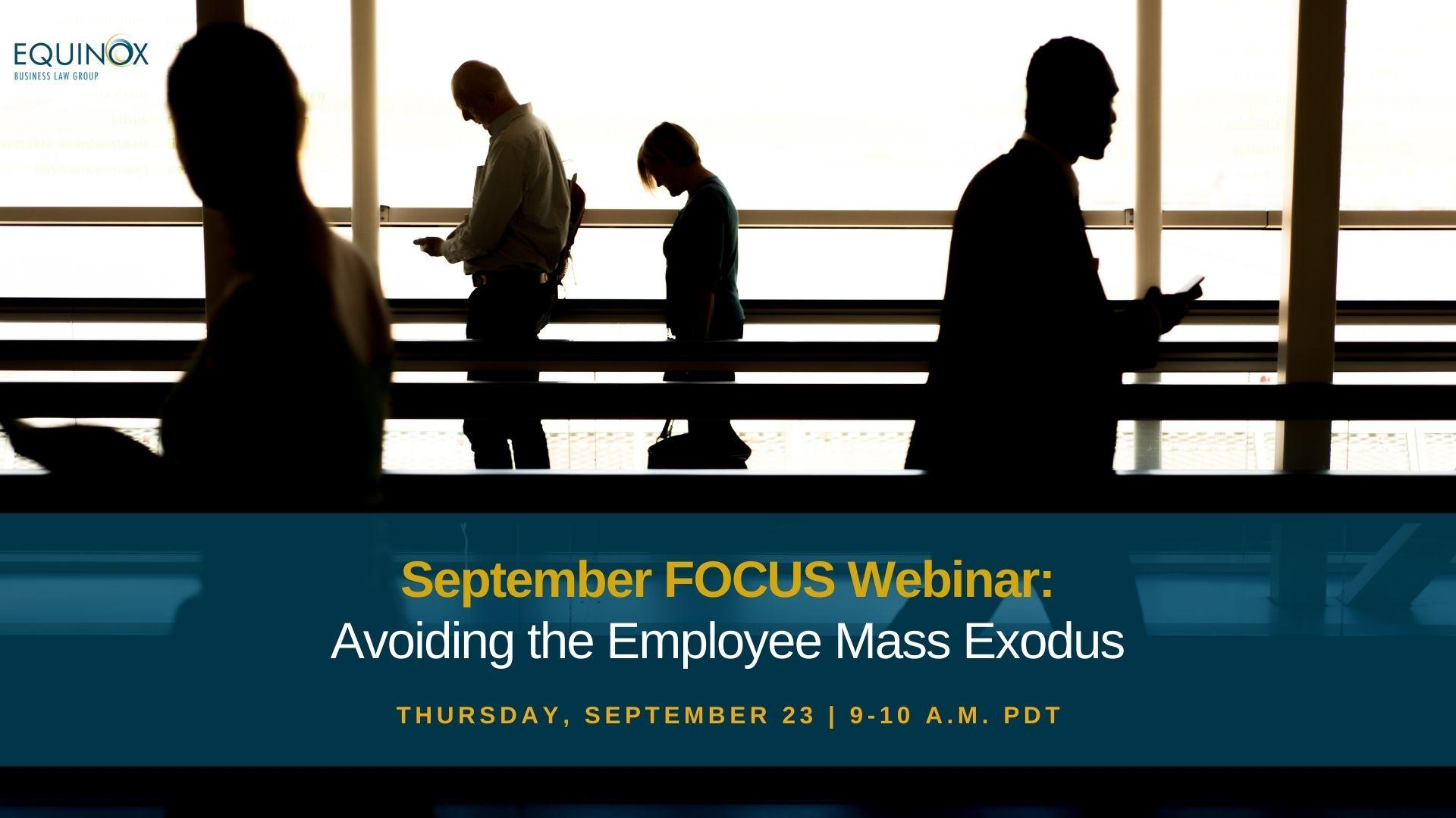 employee mass exodus