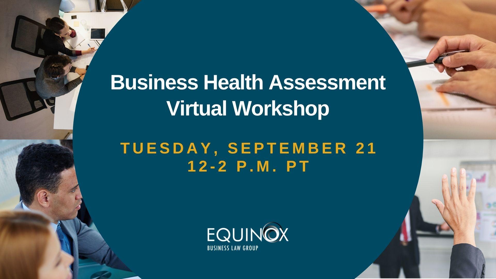 Business health assessment